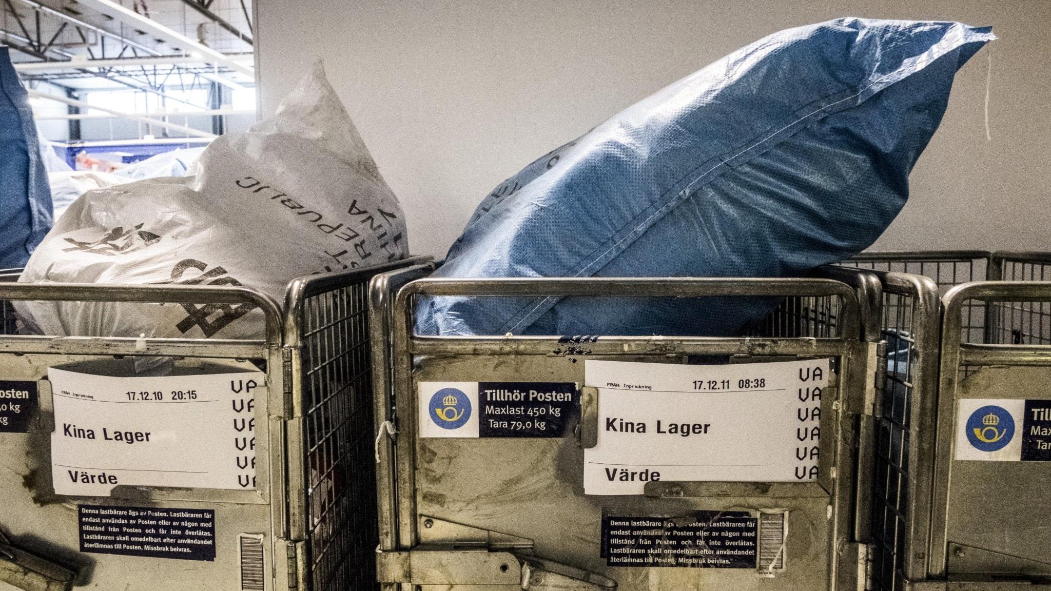 Paket från Kina blir dyrare när kemikalieskatt införs - Nyheter (Ekot)