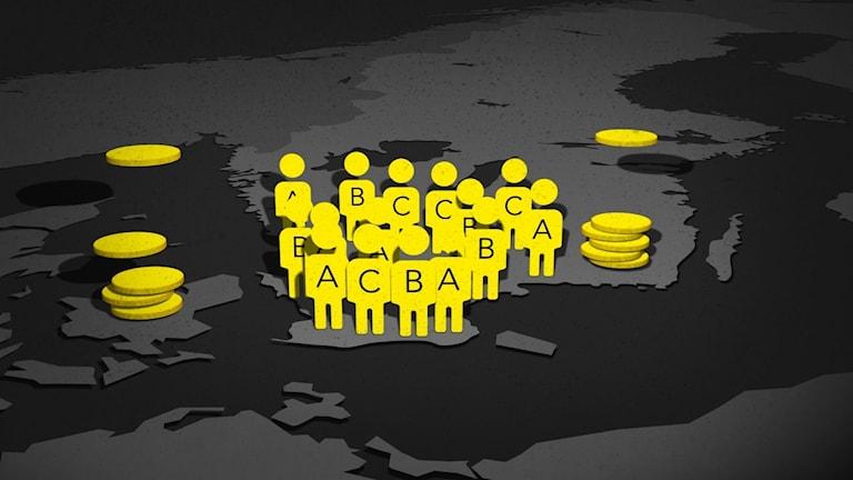 Pengar från internationella momsbedrägerier misstänks gå till terrorism.