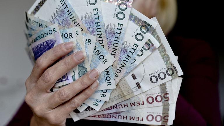 Kvinnor tvingas ofta betala högre räntor än mån, visar en ny undersökning. Foto: Pontus Lundahl/TT.