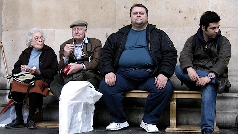 Var sjätte europé lider nu av fetma enligt rapport från EU OECD