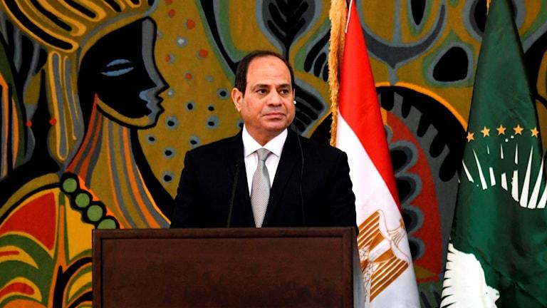 Egyptens president Abd al-Fattah al-Sisi