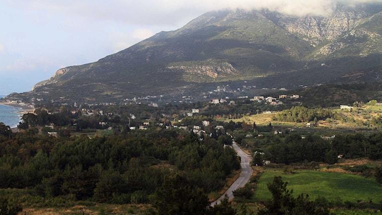 Latakien där striderna nu rasar. Foto: AP/TT.