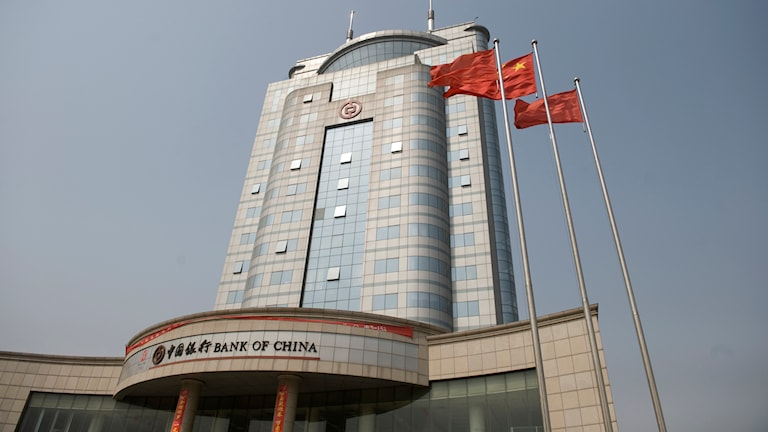 Bank of China i Linfen.