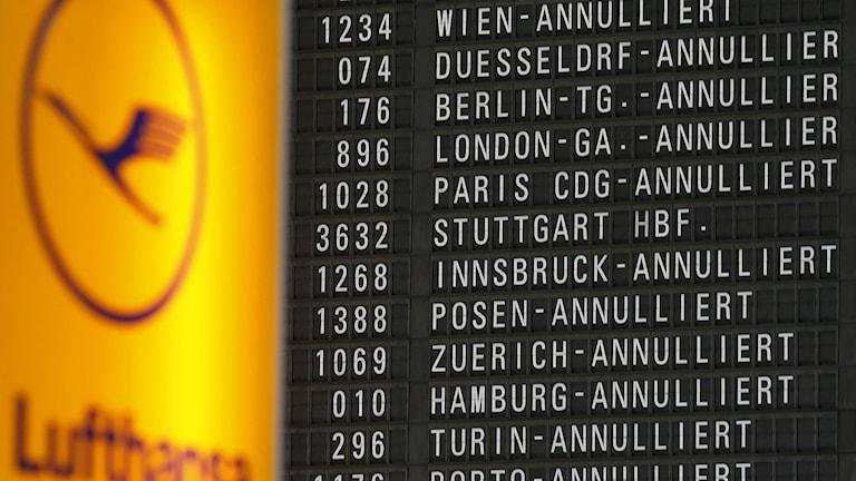 Storstrejken på Lufthansa kommer att påverka närmare en halv miljon passagerare.