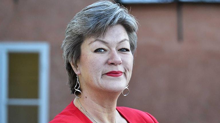 Ylva Johansson, arbetsmarknadspolitiska talesperson för Socialdemokratera.