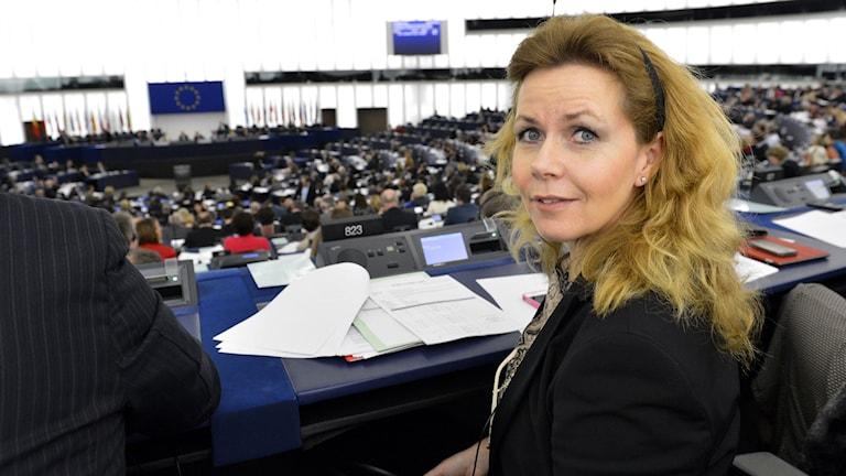 Cecilia Wikström. Foto: EU-parlamentet.