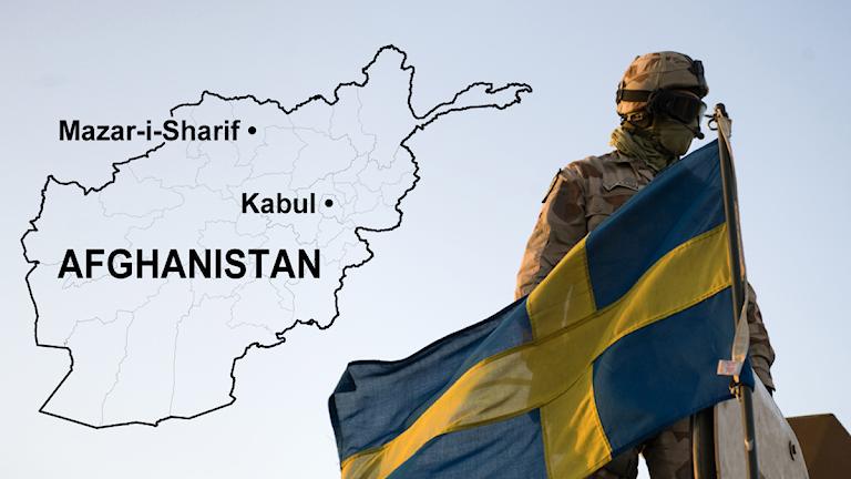 Dokumenten visar att försvarsmakten i oktober 2012 hade minst 42 tolkar anställda. Foto: Henrik Montgomery. Montage: Sveriges Radio