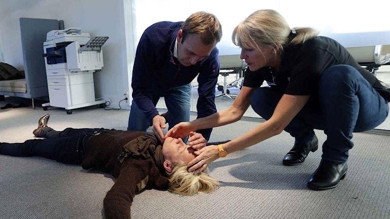 Första hjälpen-kurs i Norge. Foto: Lise Åserud / TT