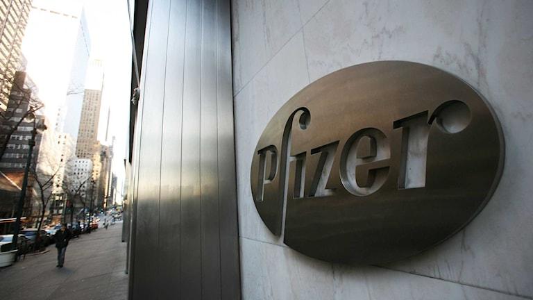Pfizers kvartalsrapport visade sjunkande försäljning. Foto: Mark Lennihan/TT