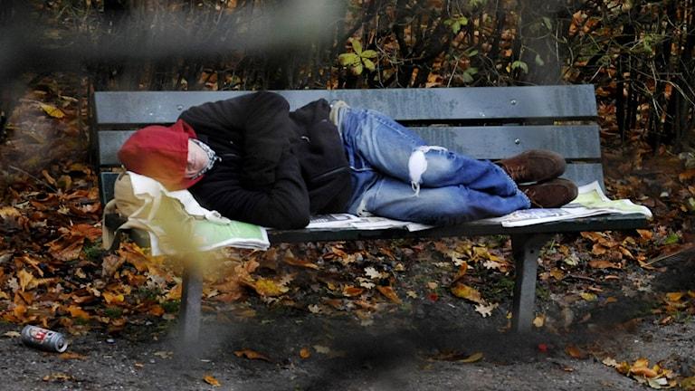 Ideell förening räknar hemlösa i Varberg