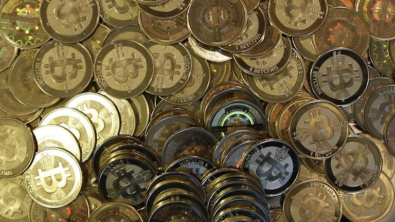 Den virtuella valutan bitcoin fick stor uppmärksamhet runt årsskiftet.