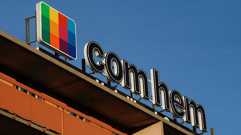 Tv- och bredbandsbolaget Comhem. Foto: Hasse Holmberg/TT