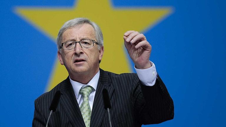 Jean-Claude Juncker. Foto: Markus Schreiber/TT.