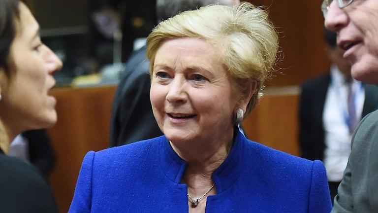 Irlands biträdande premiärminister Frances Fitzgerald