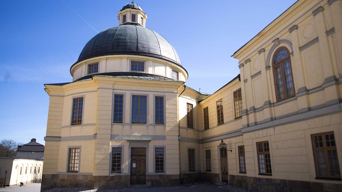 Prinsessan döps i Drottningsholms slottskyrka. Foto: Per Larsson/TT
