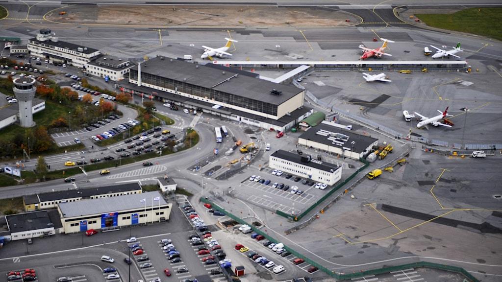 Bromma flygplats. Foto: TT