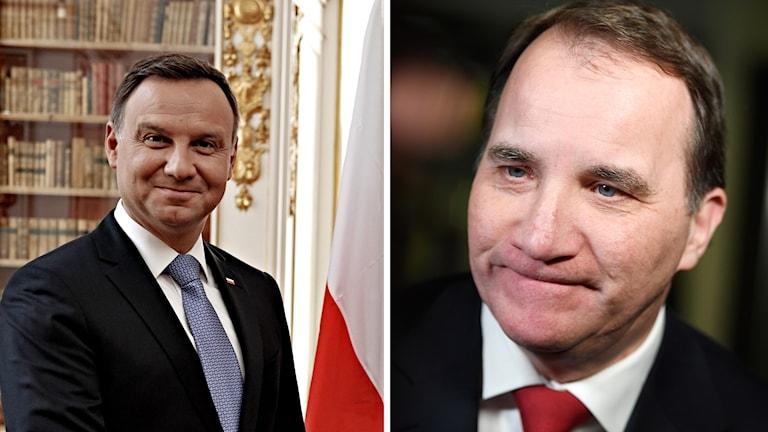Polens president besöker Sverige i två dagar.
