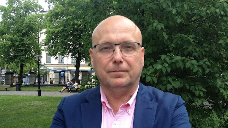 Terrorexpert Magnus Ranstorp Foto: Karin Wettre/Sveriges Radio.