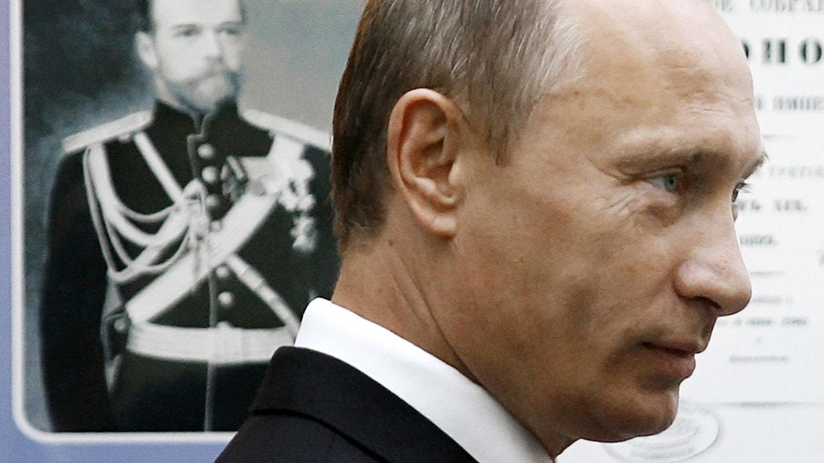 Rysslands president Vladimir Putin. Foto: TT