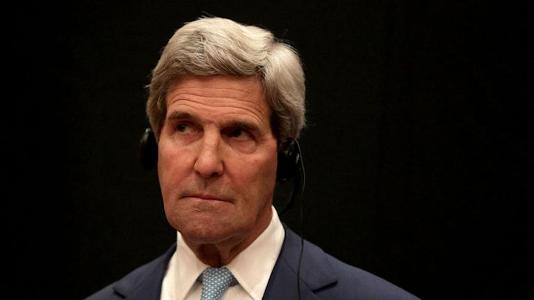 USAs utrikesminister John Kerry. Foto Maya Alleruzzo, AP/TT