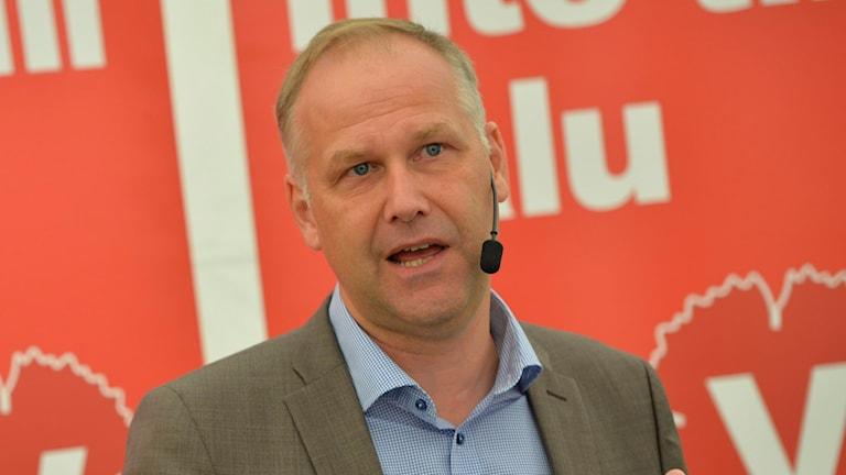 Jonas Sjöstedt, Vänsterpartiet,