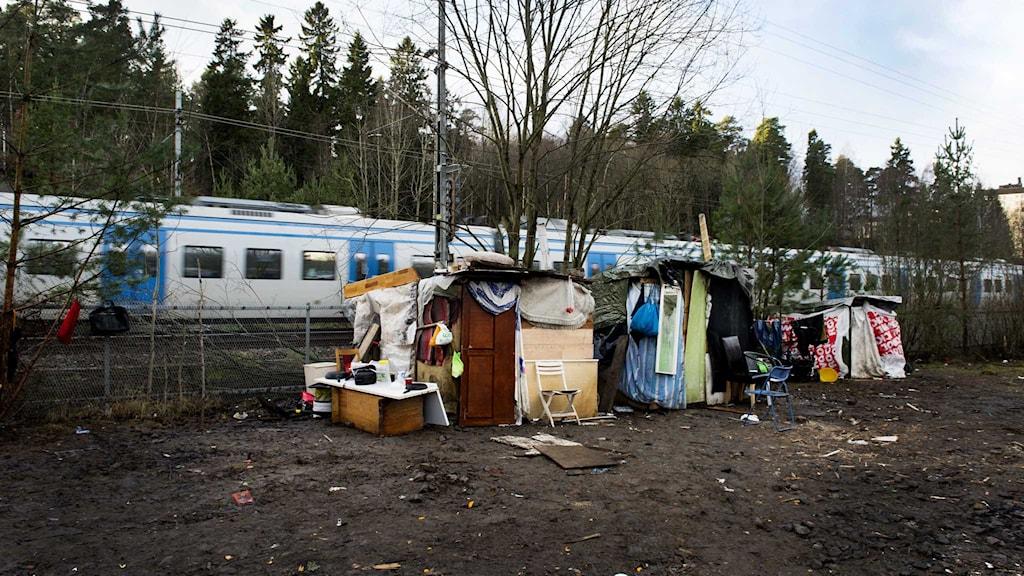 Antalet hemlösa EU-migranter ökar i våra tre storstäder Stockholm, Göteborg och Malmö.