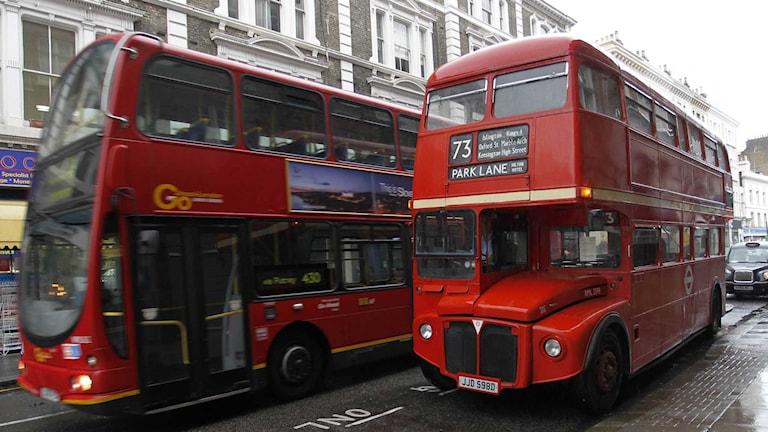 En buss i London