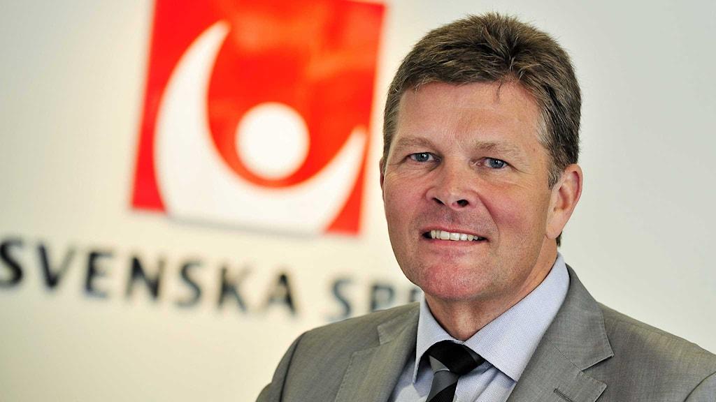 Svenska Spels vd Lennart Käll.