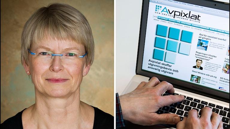 Justitiekansler Anna Skarhed, avpixlat.se