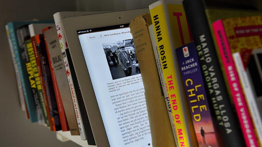 Priserna på lån av e-böcker ändras. Foto: Jonas Ekströmer/TT