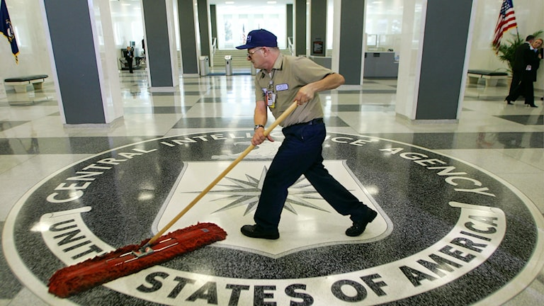 CIA:s högkvarter. Foto: J. Scott Applewhite/TT.