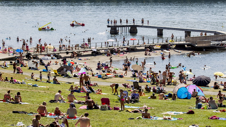2014, Snart slut på värmeböljan, Foto: TT Nyhetsbyrån