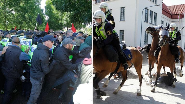 Limhamn demonstration