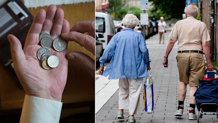 Pensionär, pengar