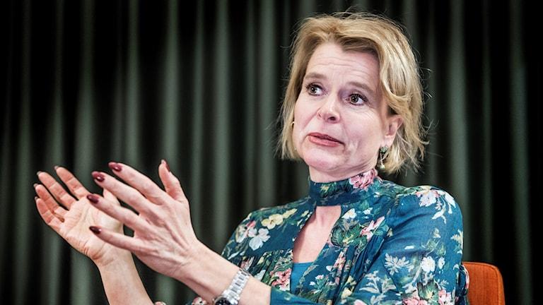Åsa Regnér, barn-, äldre- och jämställdhetsminister (S).