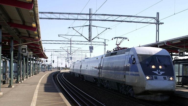 SJ snabbtåg. Foto: TT