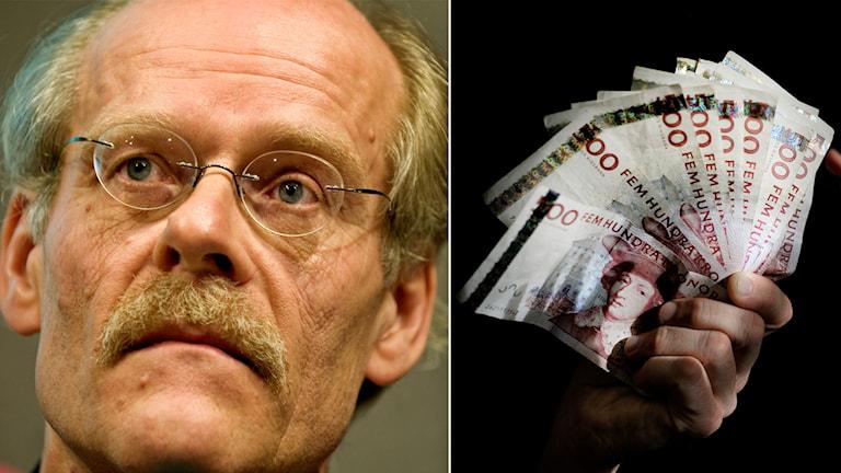 Riksbanken, reporänta, pengar