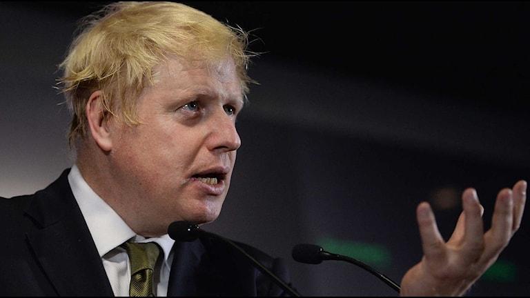 Londons borgmästare Boris Johnson. Foto: Stefan Rousseau/TT.