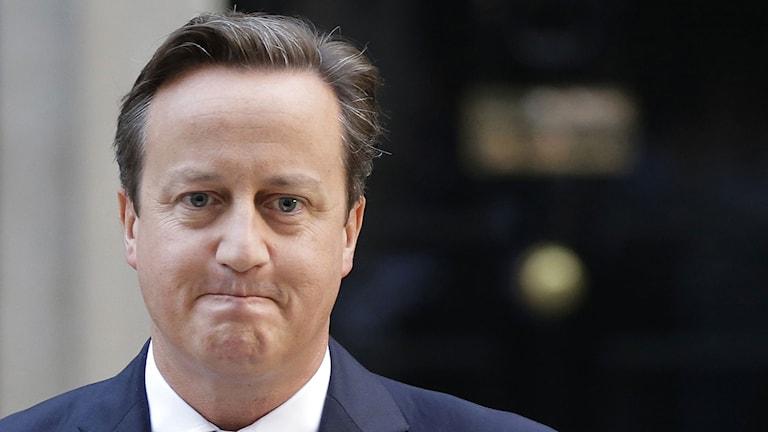 Storbritanniens premiärminister David Cameron. Foto: Lefteris Pitarakis/TT.