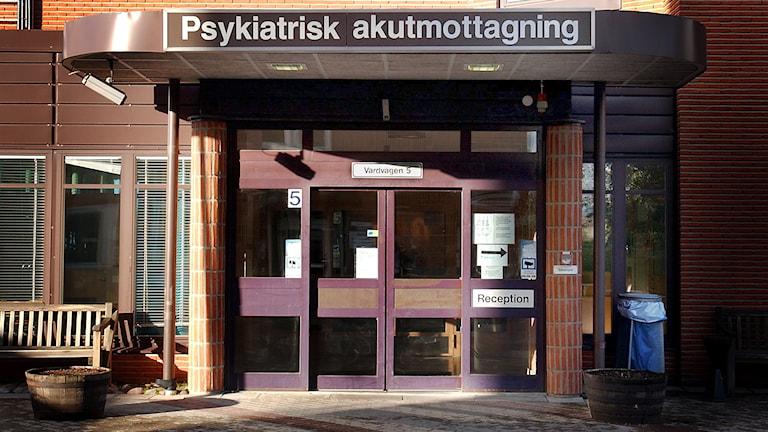 Psykiatrisk akutmottagning, vid S:t Görans sjukhus i Stockholm. Foto: Björn Larsson Ask / SvD / TT
