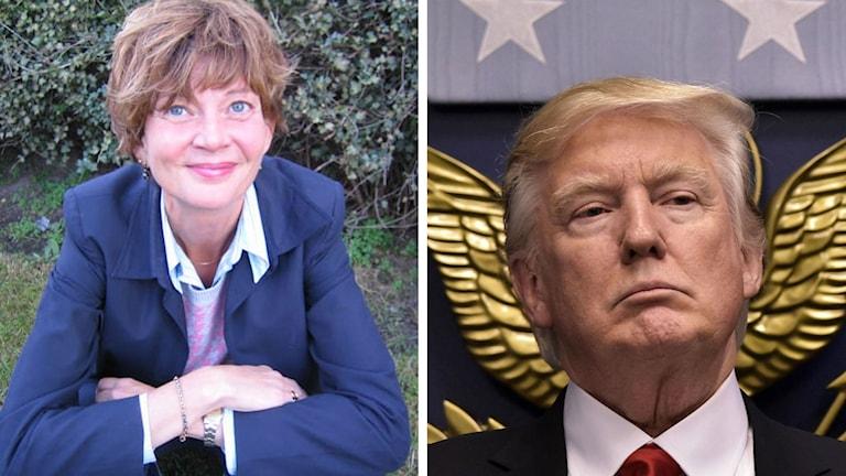 Madelaine Seidlitz är jurist på Amnesty international och tror att Donald Trumps beslut drabbar barn och kvinnor