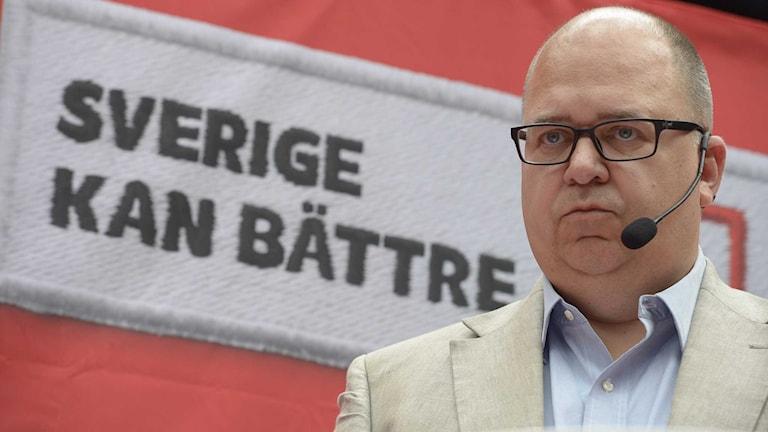 LO:s ordförande Karl-Petter Thorwaldsson.