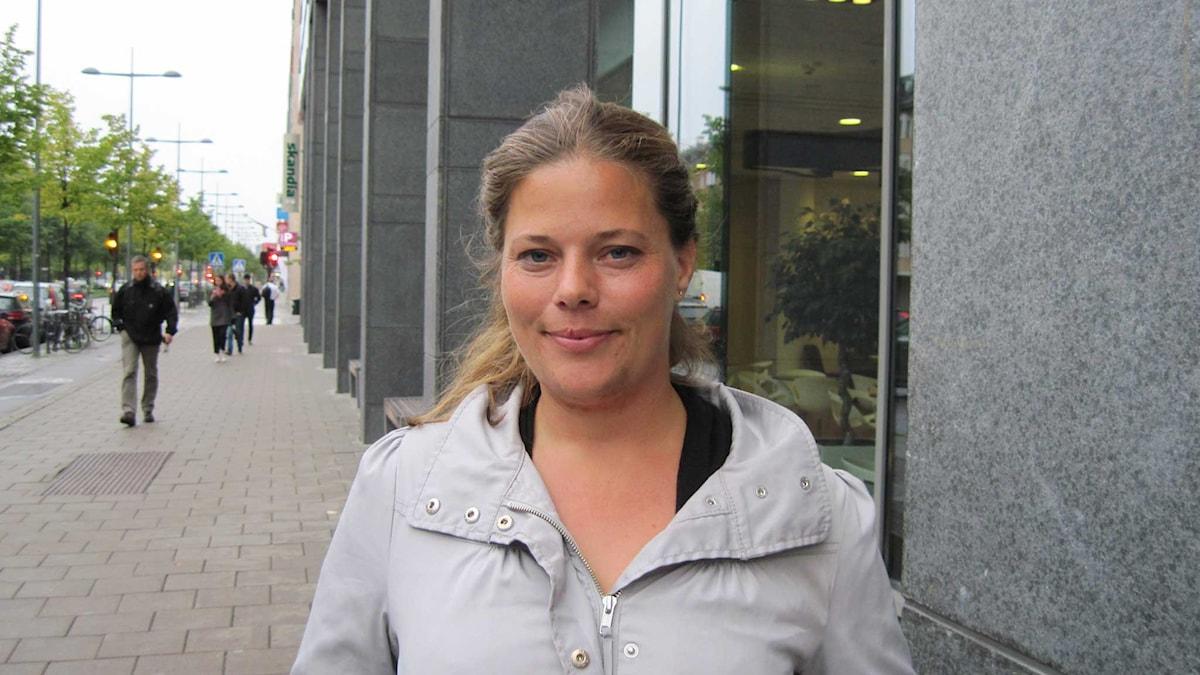Sara Hedrenius överlevde Estonia.