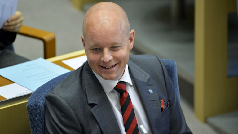 Björn Söder. Foto: Henrik Montgomery/TT