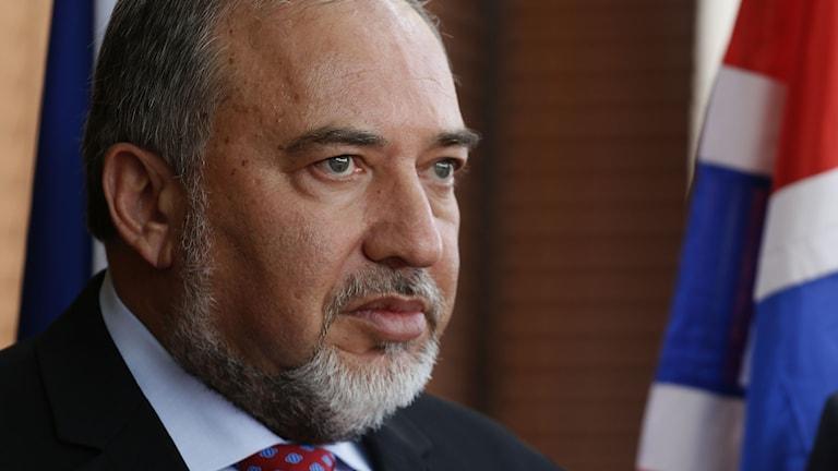 Israels utrikesminister Avigdor Lieberman. Foto: Gali Tibbon/Afp.