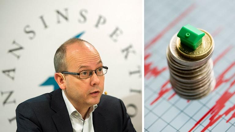 Finansinspektionens Generaldirektör Martin Andersson. Foto: TT
