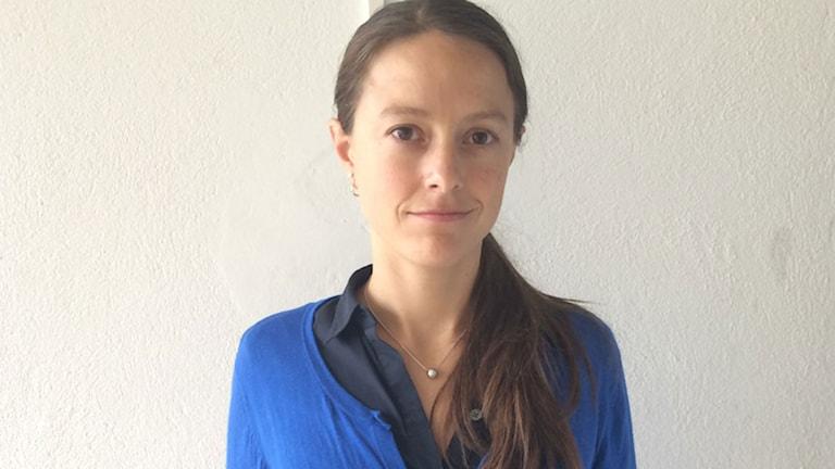 Helena Nordenstedt, ST-läkare på väg till Liberia.
