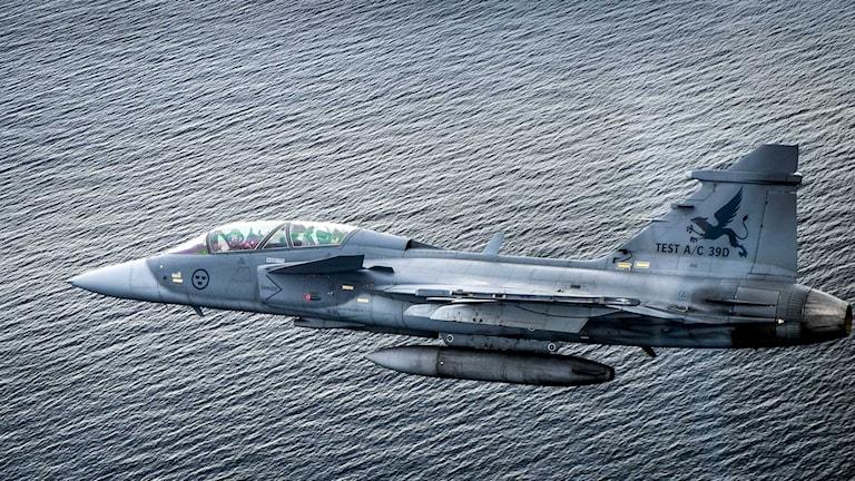 JAG 39 Gripen. Foto: TT.