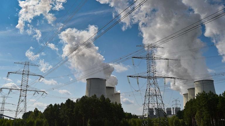 Ett av Vattenfalls tyska kärnkraftverk. Foto: Patrick Pleul/TT.