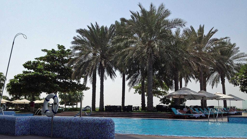 Lyxhotell i Dubai. Foto: Markus Alfredsson/Sveriges Radio.